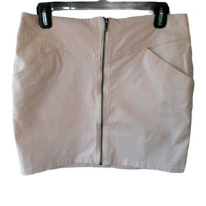 H&M mini skirt with zipper front